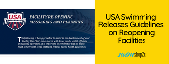 Covid-19 Updates | USA Swimming Releases Facility Re-Opening Messaging & Planning