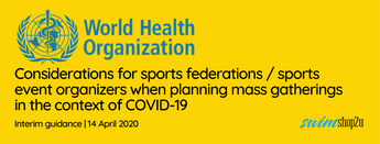 Covid-19 Updates | WHO Releases Guidelines for Sports Federations/Sports Event Organisers