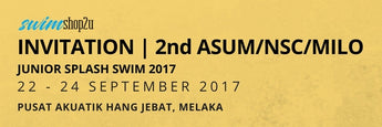 INVITATION | 2ND ASUM/NSC/MILO JUNIOR SPLASH SWIM 2017