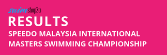 RESULTS | Speedo Malaysia International Masters Swimming Championship