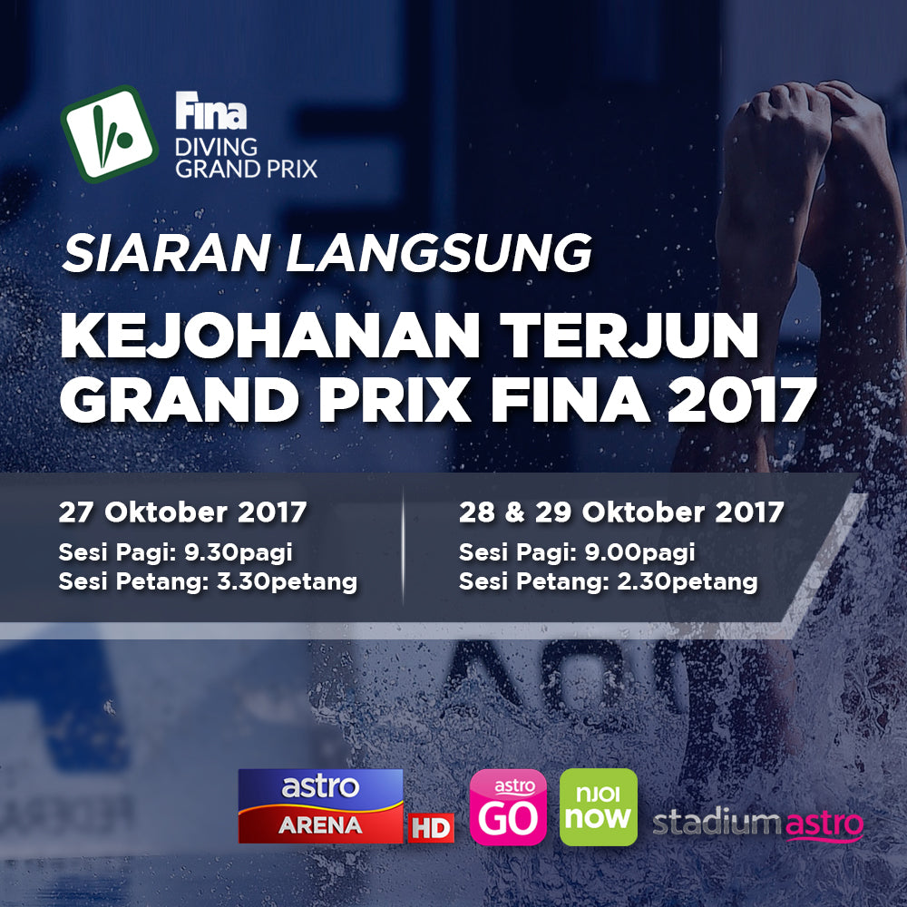 FINA Diving Grand Prix 2017 - LIVE Telecast