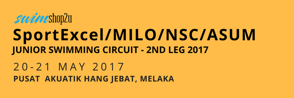 swimshop2u-SportExcel/MILO/NSC/ASUM Junior Swimming Circuit - 2nd Leg 2017 - Invitation