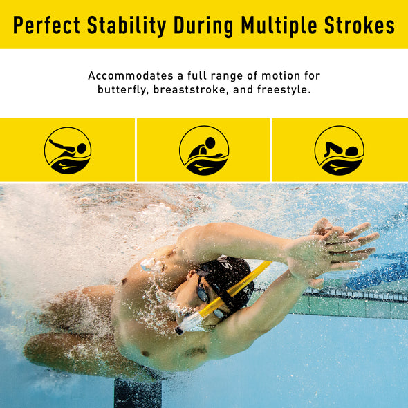 Original Swimmer's Snorkel | First ever center-mount snorkel