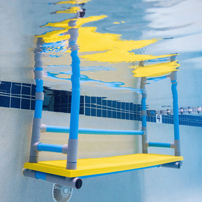 Hanging Swim Bench | Swim School Teaching Bench
