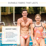 BLACK BRIEF | DURABLE TRAINING AND COMPETITION SWIMWEAR