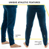 TECH PANT MENS | JOGGER-STYLE PANTS (NAVY)
