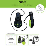 DUO™ | UNDERWATER MP3 PLAYER
