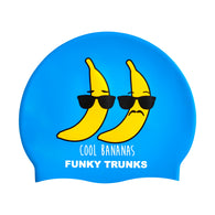 COOL BANANAS | SILICONE SWIMMING CAPS
