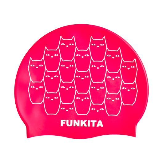 KITTEN KLUSTER | SILICONE SWIMMING CAPS