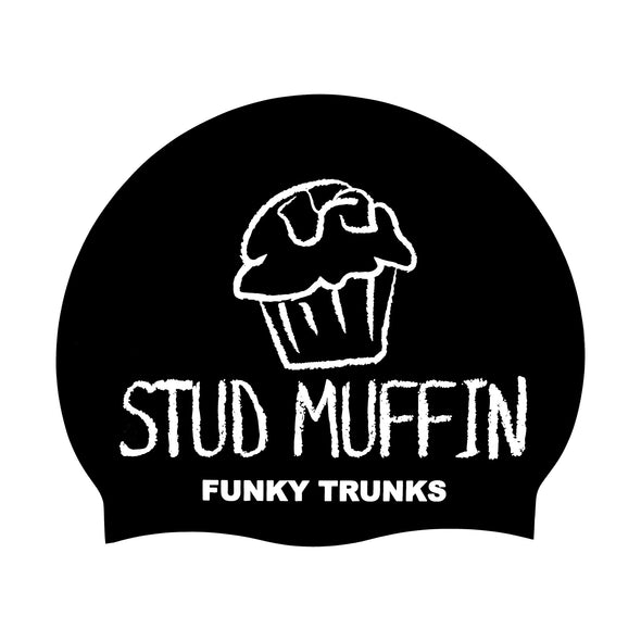 Stud Muffin | Silicone Swimming Caps