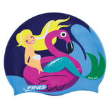 FLAMINGO | MERMAID SILICONE SWIM CAP