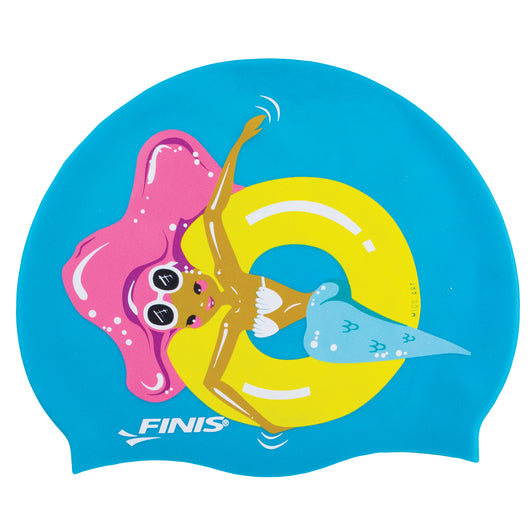 FLOATY | MERMAID SILICONE SWIM CAP