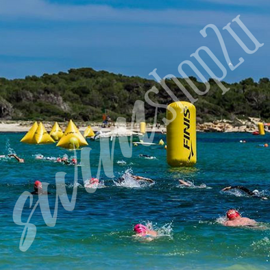 FINIS® Cylindrical Inflatable Buoy | 1.5m Open Water Race Markers