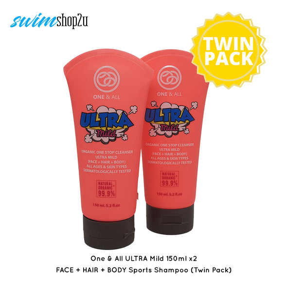 Twin Pack - One & All Ultra Mild | FACE + HAIR + BODY