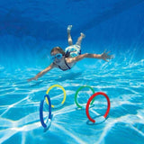UNDERWATER DIVE RINGS