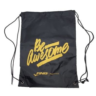 Be Awesome Mesh Drawstring Bag | #teamFINIS