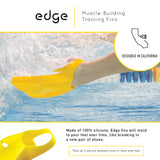EDGE | COMFORTABLE, HIGH VELOCITY SWIM FINS