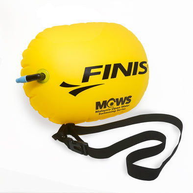 Open Water Swim Buoy | Swim Safety Float (FINIS & MOWS)