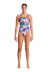 ALBA WILD | LADIES TIE ME TIGHT ONE PIECE