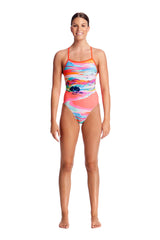 RED CENTRE | LADIES TIE ME TIGHT ONE PIECE