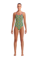 TOUCAN DO IT | LADIES ECO DIAMOND BACK ONE PIECE