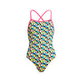 TOUCAN DO IT | GIRLS ECO STRAPPED IN ONE PIECE