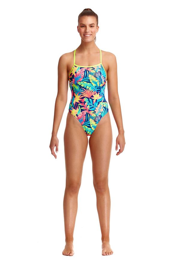 Palm Off | Ladies Eco Strapped In One Piece