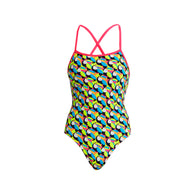 TOUCAN DO IT | LADIES ECO STRAPPED IN ONE PIECE