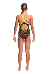 NIGHT SWIM | GIRLS DIAMOND BACK ONE PIECE