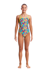 PANEL POP | GIRLS DIAMOND BACK ONE PIECE