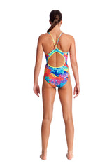 LAYER CAKE | LADIES DIAMOND BACK ONE PIECE