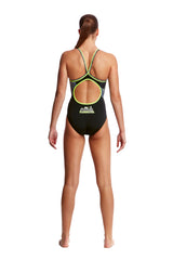 MOONLIGHTING | LADIES DIAMOND BACK ONE PIECE