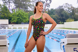 NIGHT SWIM | LADIES DIAMOND BACK ONE PIECE