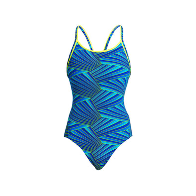 STREAKER | LADIES DIAMOND BACK ONE PIECE