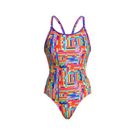 TOP SPOT | LADIES DIAMOND BACK ONE PIECE