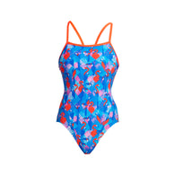 FLAMING VEGAS | LADIES STRAPPED IN ONE PIECE