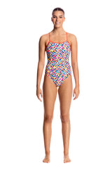FLASH BOMB | LADIES SINGLE STRAP ONE PIECE