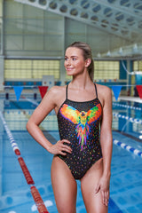 LOVEBIRD | LADIES SINGLE STRAP ONE PIECE