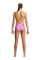 PINK BLISS | LADIES SINGLE STRAP ONE PIECE