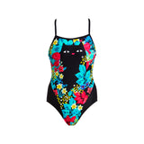 SCAREDY CAT | LADIES SINGLE STRAP ONE PIECE