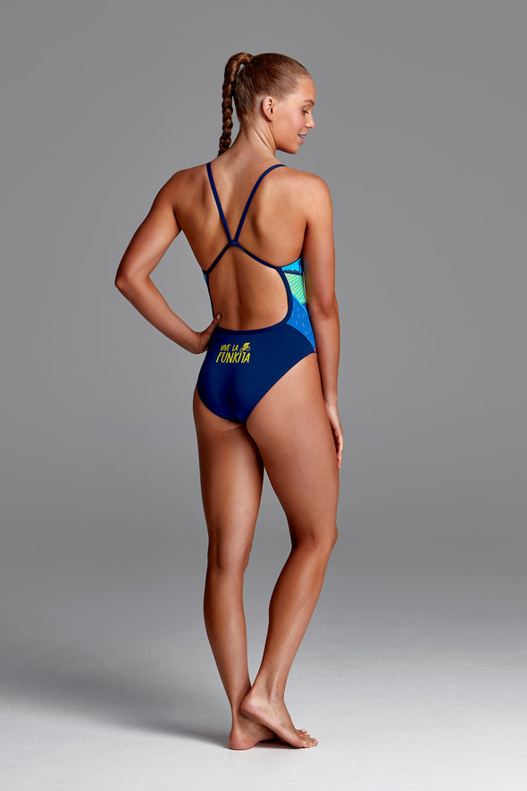 ALLEZ ALLEZ | GIRLS SINGLE STRAP ONE PIECE