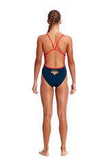 WINGSPAN | GIRLS SINGLE STRAP ONE PIECE