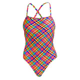 BASKET CASE | GIRLS STRAPPED IN ONE PIECE