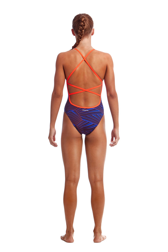 HUGO WEAVE | GIRLS STRAPPED IN ONE PIECE