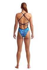 BLUE BIRD | LADIES STRAPPED IN ONE PIECE