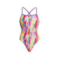 SPLAT STAT | LADIES STRAPPED IN ONE PIECE