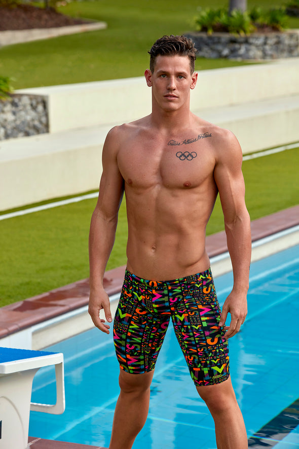 NIGHT SWIM | MENS TRAINING JAMMERS