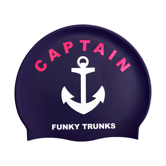 CAPTAIN FUNKY | SILICONE SWIMMING CAPS