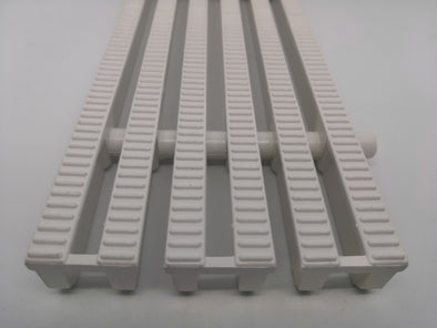 "LOCAL PP DRAIN GRATING FOR SWIMMING POOL | 12"" (L) x 2"" (W) x 1"" (D)"