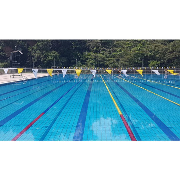 Backstroke Flags | Mirror Fabric